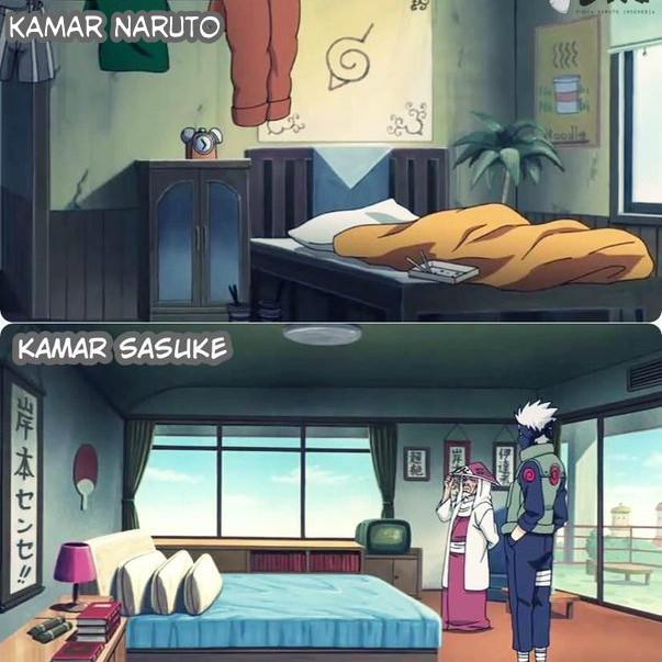Kwikku, Sasuke Masih Memiliki Rumah di Kawasan Uchiha untuk Tempat Tinggal