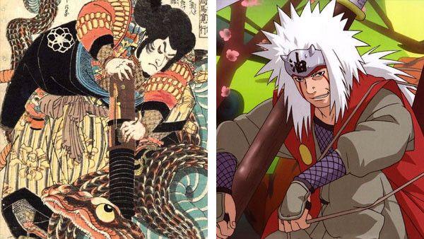 Kwikku, Jiraiya Tsunade dan Orochimaru