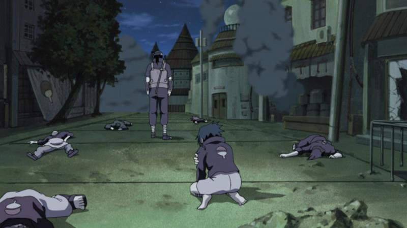 Kwikku, Pembantaian Klan Uchiha oleh Itachi