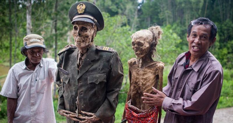 Kwikku, Mumi Suku Toraja di Sulawesi Selatan