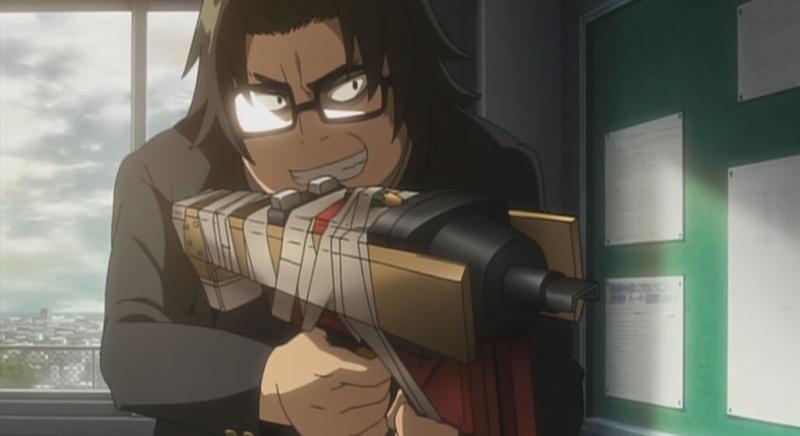Kwikku, Kouta Hirano dari Highschool of the Dead