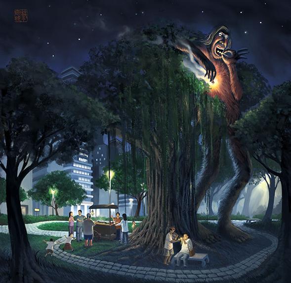 Kwikku, Pohon Beringin adalah Rumah untuk Genderuwo