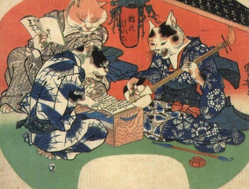 Kwikku, Cat Bus Menurut Legenda Jepang
