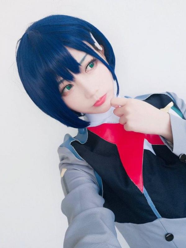 Kwikku, Cosplay Ichigo in Uniform by Rakuko