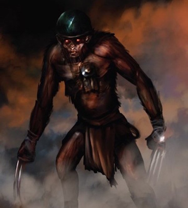 Kwikku, Monkey Man