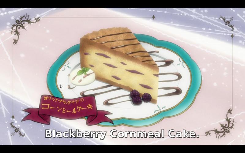 Kwikku, Blackberry Cornmeal Cake