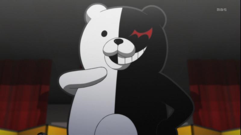 Kwikku, Monokuma dari Danganronpa The Animation