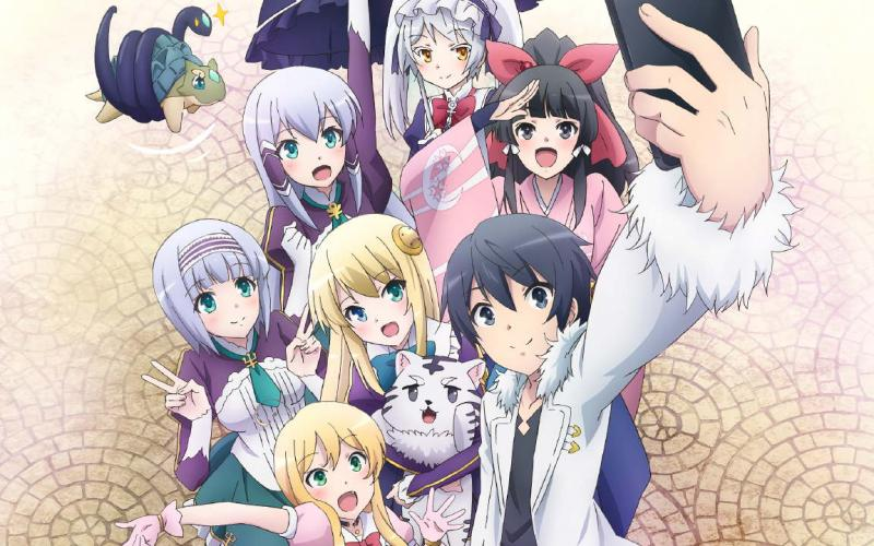 Kwikku, In Another World With My Smartphone