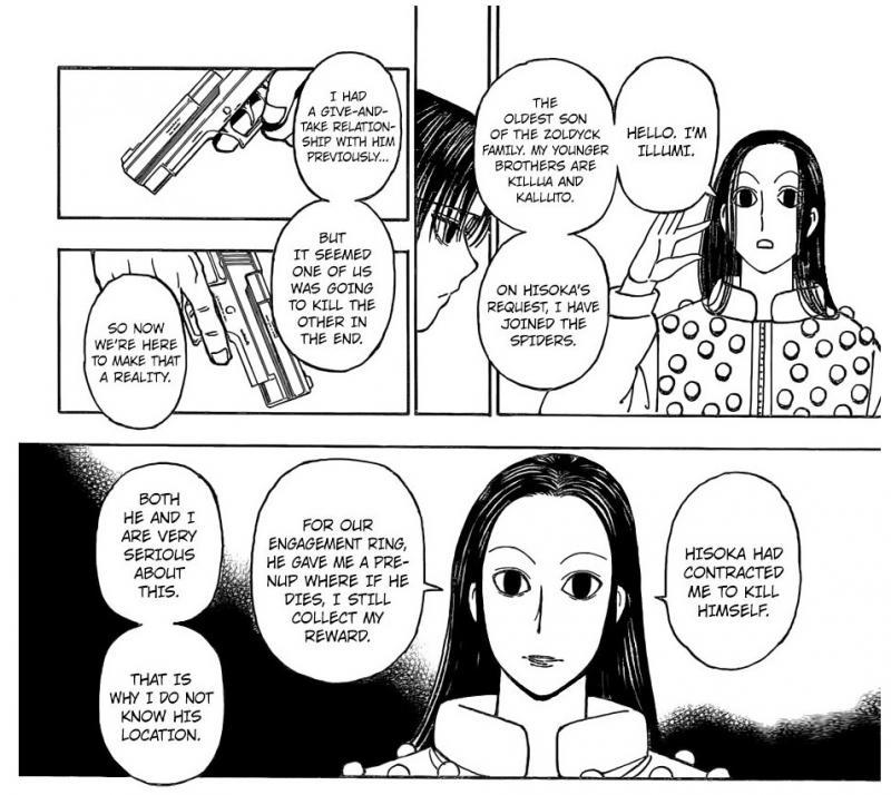 Kwikku, Bergabung dengan Genei Ryodan demi Memburu Hisoka