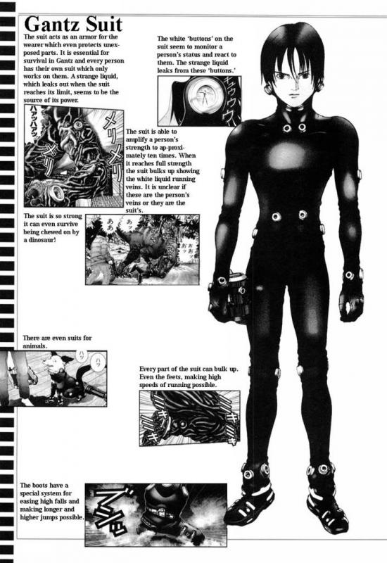 Kwikku, Basic Suit di Anime Gantz
