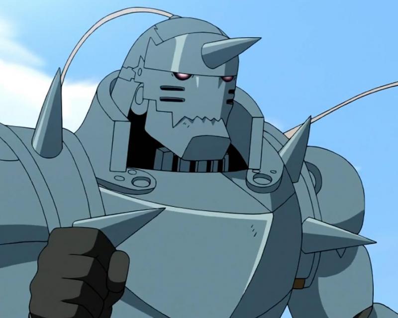 Kwikku, Armor Alphonse Elric