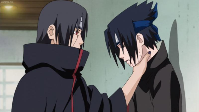 Kwikku, Hubungan Sasuke dan Itachi Uchiha