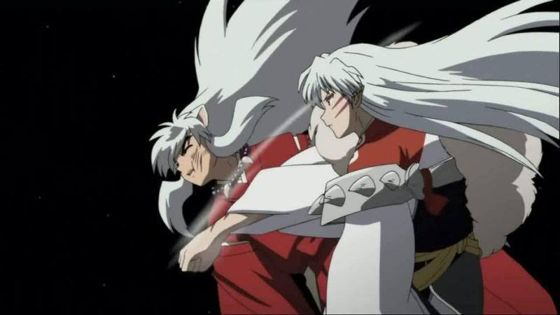 Kwikku, Inuyasha dan Sesshoumaru