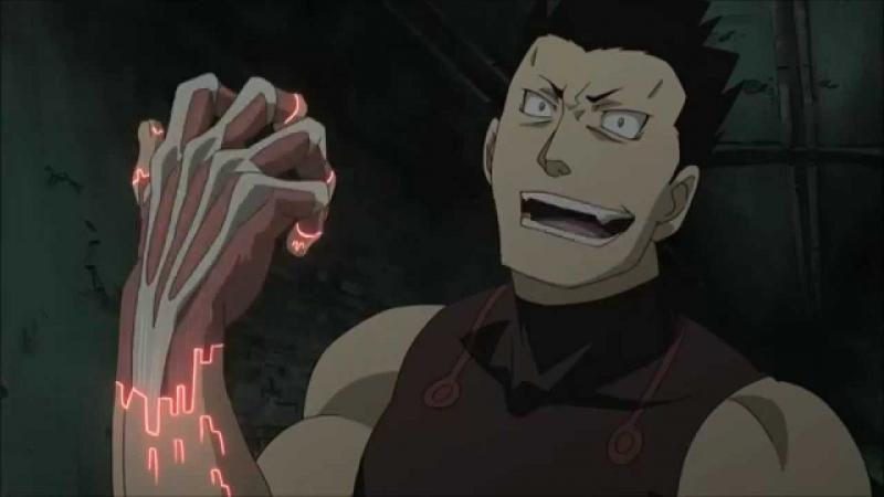 Kwikku, Greed dari Fullmetal Alchemist Brotherhood