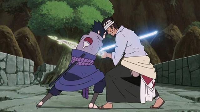 Kwikku, Danzo Shimura dari Naruto