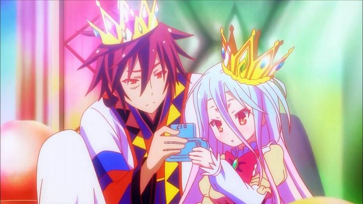 Kwikku, Sora dan Shiro dari No Game No Life