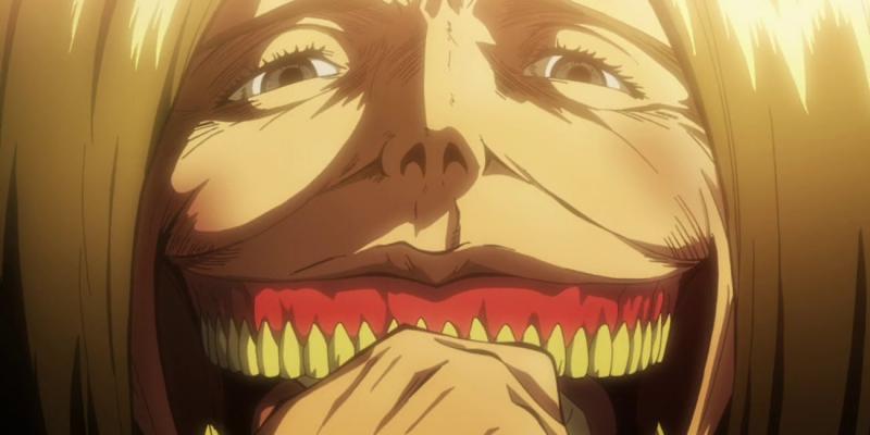 Kwikku, Smiling Titan dari Shingeki no Kyojin