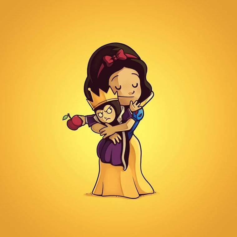 Kwikku, Snow White