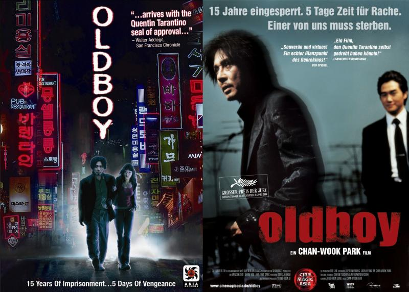 Kwikku, Film Oldboy