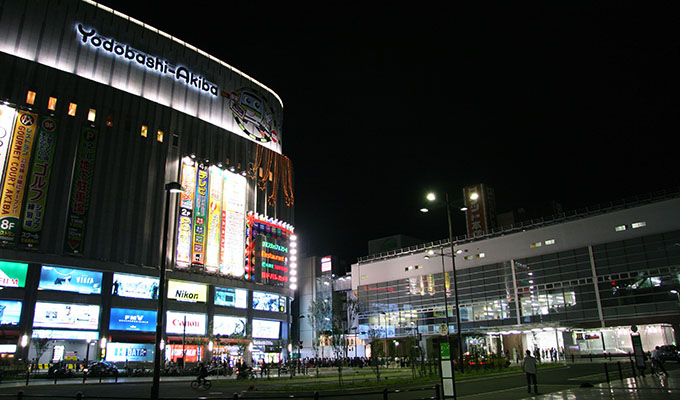 Kwikku, Belanja di Yodobashi Akiba