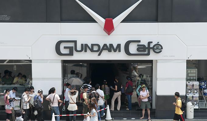 Kwikku, Gundam Cafe