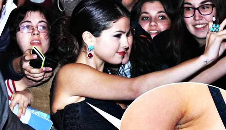 Kwikku, Penyanyi cantik Selena Gomes ini banyak dicibir karena lupa mencukur bulu ketiaknya loh