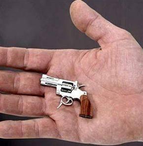 Kwikku, Ciptaan Terkecil  Pistol Terkecil Di Pasaran