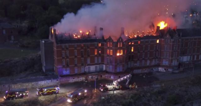 Kwikku, St Kevin Asylum dilalap api pada Juli