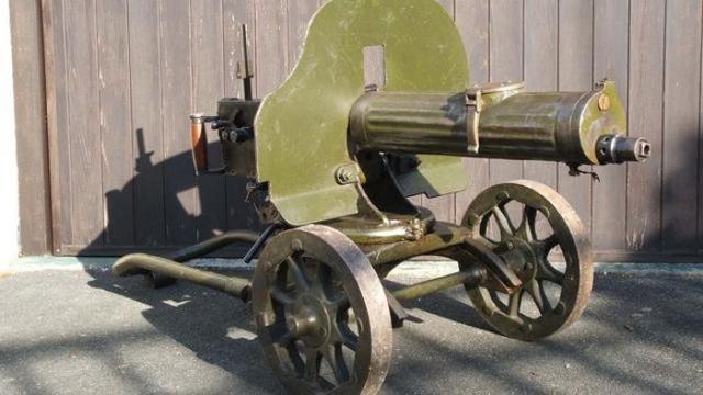 Kwikku, Maxim Machine Gun