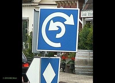 Kwikku, Kalau kamu nemuin rambu lalu lintas yang kayak gini apa yang akan kamu lakukan Mutermuter gak jelas kah Hahaha