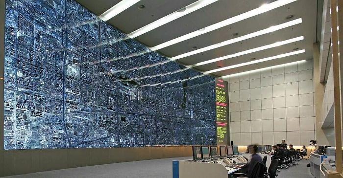 Kwikku, Beginilah potret ruang kendali lalu lintas di Beijing