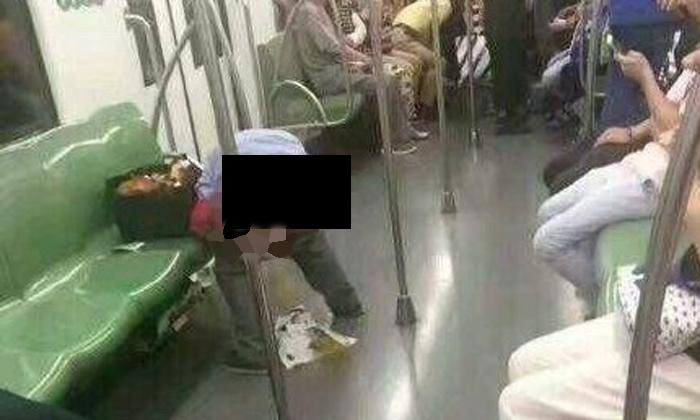 Kwikku, Apa gak ada orang yang melarang Orang ini buang air di hadapan banyak orang di dalam kereta loh