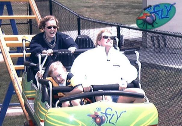 Kwikku, Ini yang ekstrim Roller Coasternya atau tempat duduknya sih