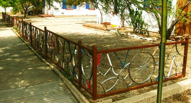 Kwikku, Pagar sepeda bekas