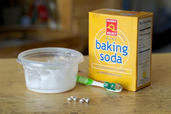 Kwikku, Menggunakan Baking Soda