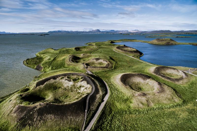 Kwikku, Tidak semua pemandangan di kutub utara itu adalah es batu Ternyata ada juga pemandangan hijau seperti ini