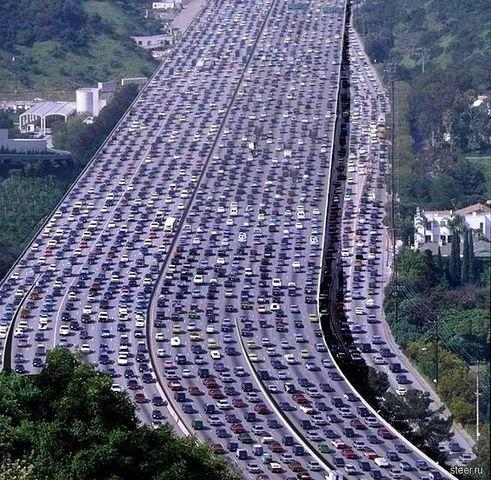 Kwikku, Potret ini di ambil ketika terjadi kemacetan terpanjang dan terbanyak di dunia yang terjadi di Cina