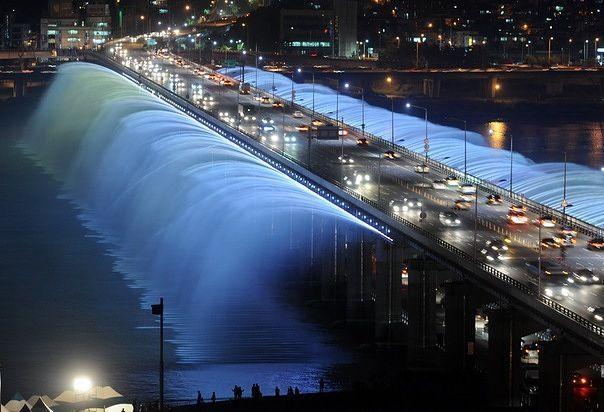 Kwikku, Indahnya foto Banpo Bridge di Seoul Korsel yang di ambil dari ketinggian