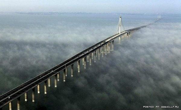Kwikku, Sangat indah dan memukau Jembatan di Shandong China ini seolah berada di atas awan