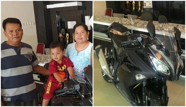 Kwikku, Nabung recehan bisa beli motor ninja
