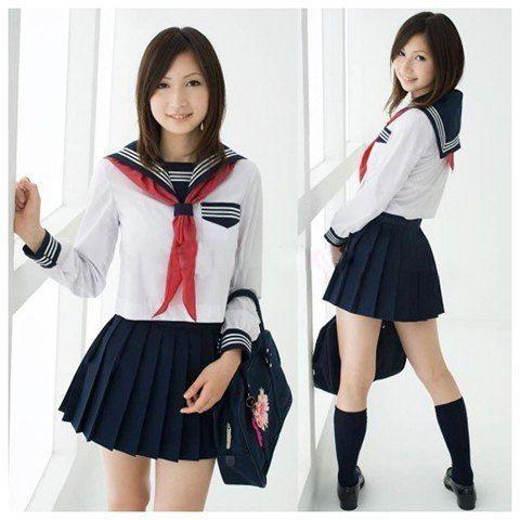 Kwikku, Seragam anak SMA yang identik dengan ukuran mini
