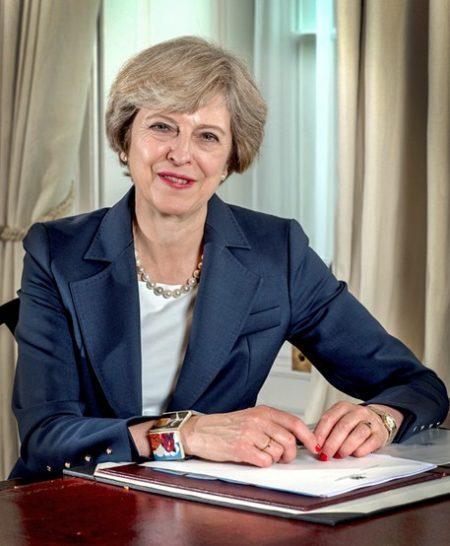 Kwikku, Theresa May Seorang Perdana Menteri Inggris