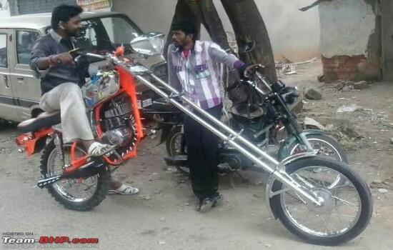 Kwikku, Ingin punya motor gaul ternyata tak perlu dengan modal yang besar pemirsa Cukup dengan sedikit sentuhan modifikasi motor kalian bisa di sulap menjadi sekeren ini