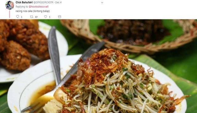 Kwikku, Berawal dari nama Lontong Balap ketika di translate maka akan berbunyi Racing Rice Cake Memang balap banget ya namanya