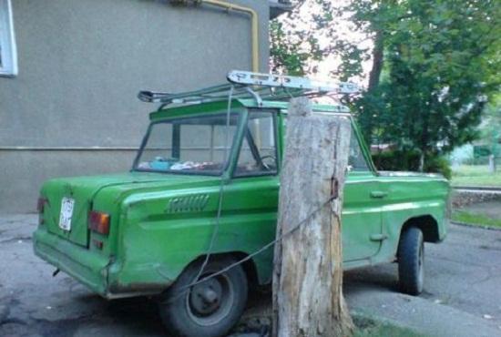 Kwikku, Inilah ide untuk memarkir mobil secara aman paling konyol sedunia