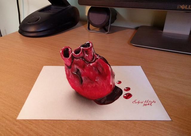 Kwikku, Jantung Manusia