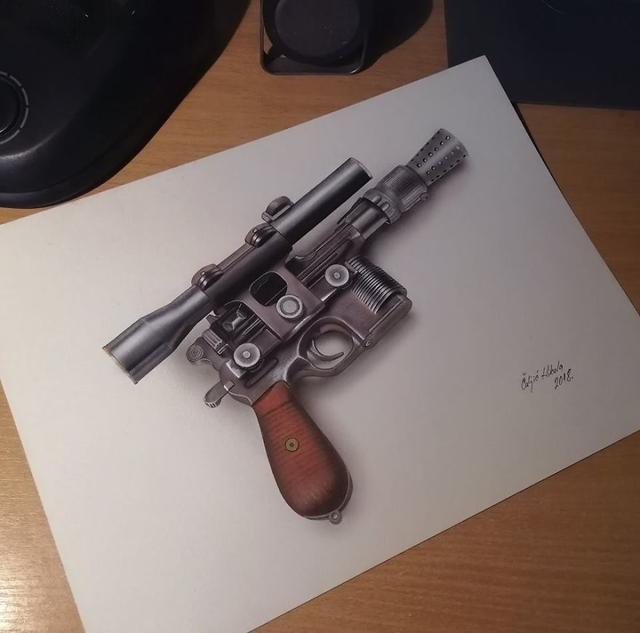 Kwikku, Pistol