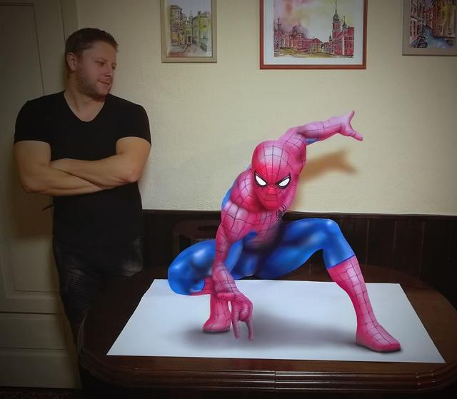 Kwikku, Spiderman