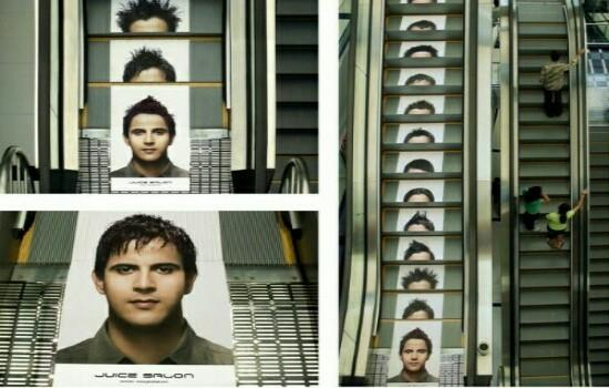 Kwikku, Jadi eskalator yang satu ini punya ratusan desain rambut untuk kalian