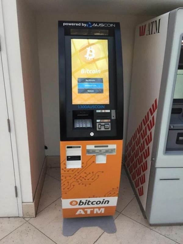 Kwikku, Sekarang transaksi Bitcoin bisa kalian lakukan di ATMnya guys wkwkwk Gak perlu ribet dan pusing